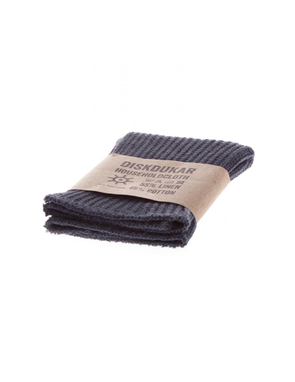 Dishcloth Linen/Cotton Orion Blue