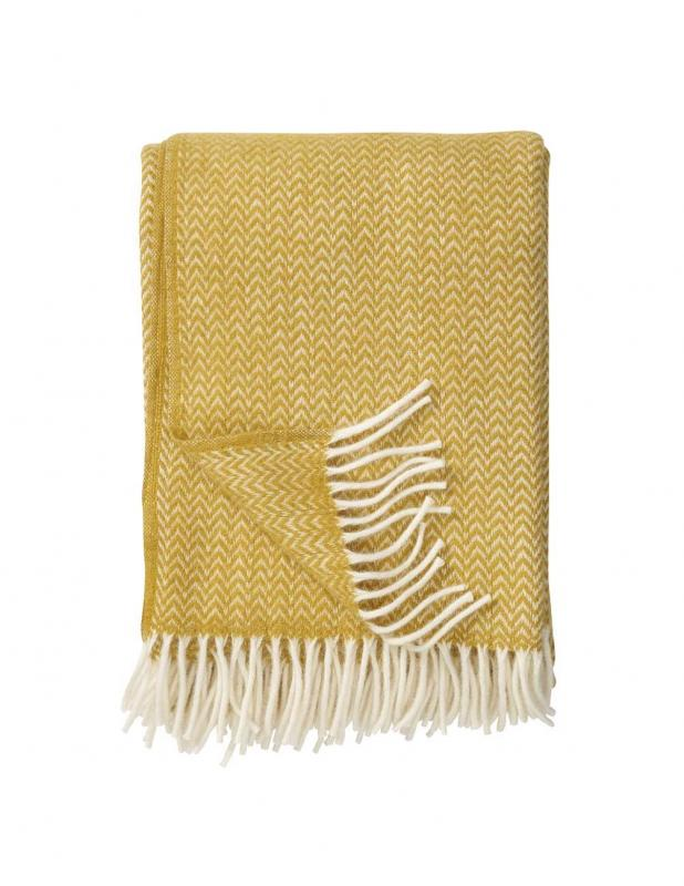 Chevron Yellow Blanket/Throw