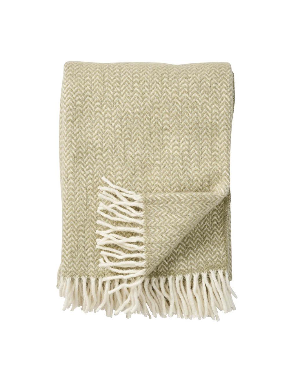 Chevron Green Blanket/Throw