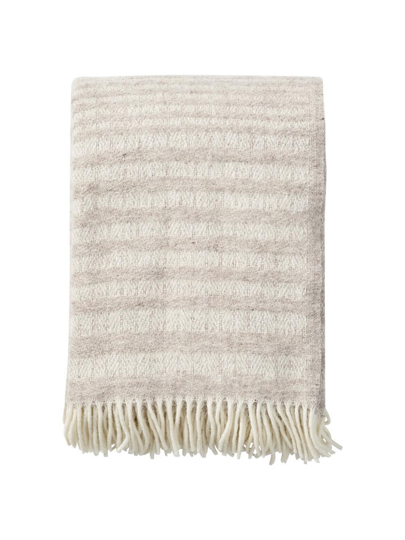 Roy Nature beige Blanket/Throw