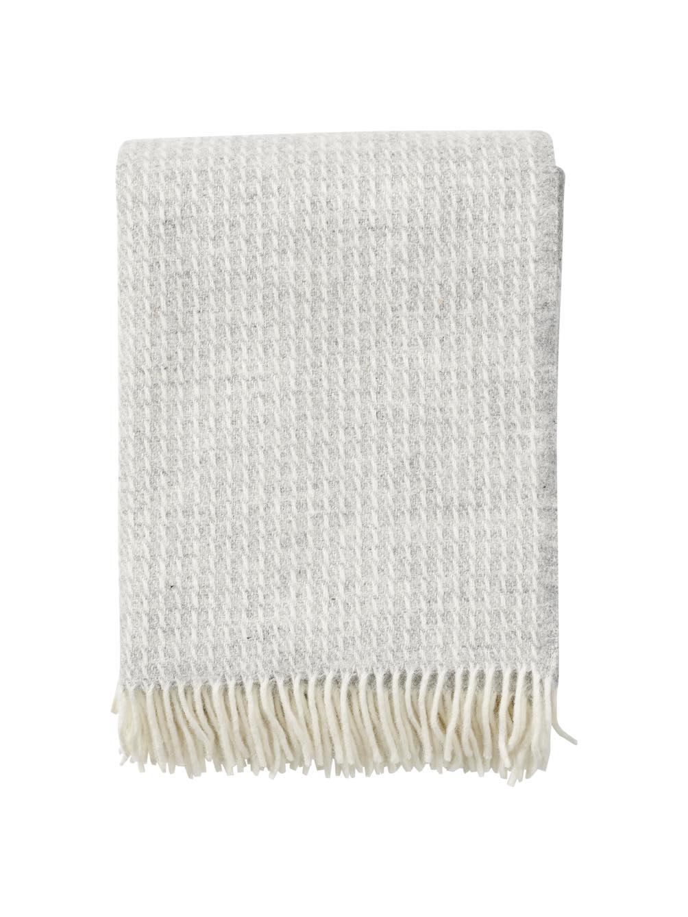 Line Light Grey Blanket/Throw