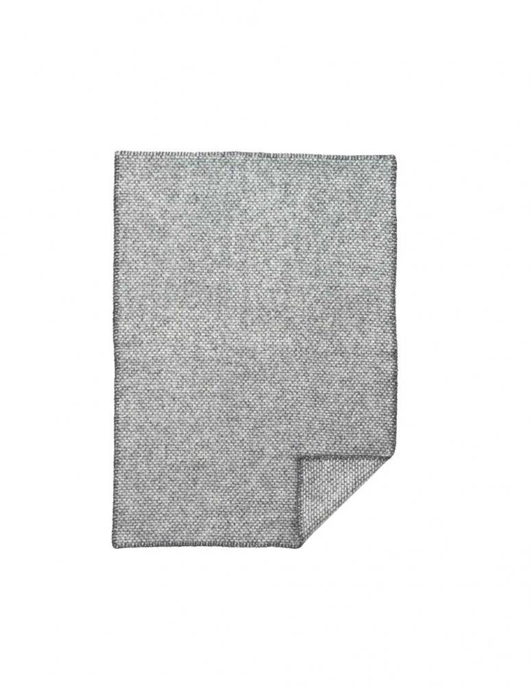 Domino Baby Throw Dark Grey