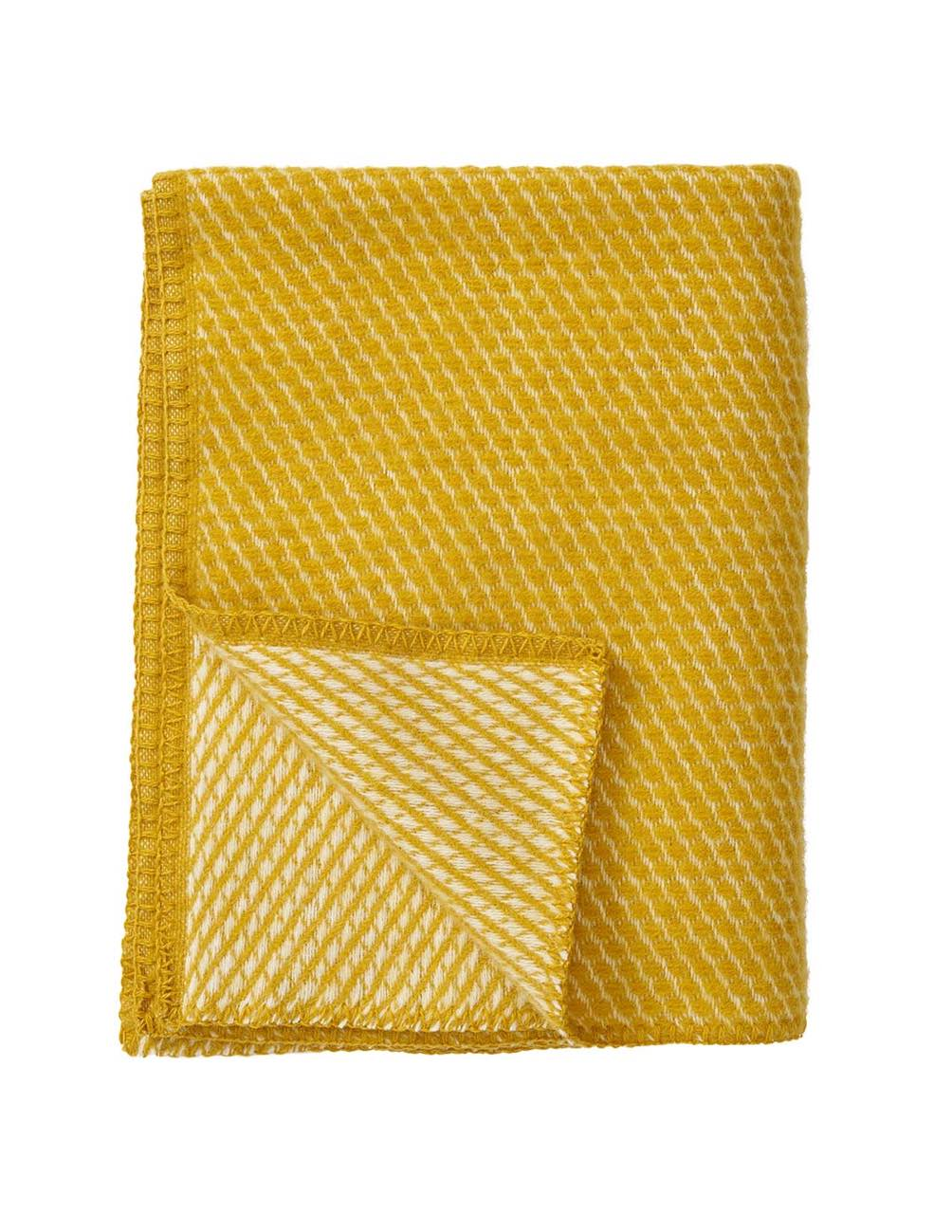 Small Velvet Saffron Blanket/Throw