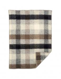 Gotland Baby Multi Grey Wool Blanket
