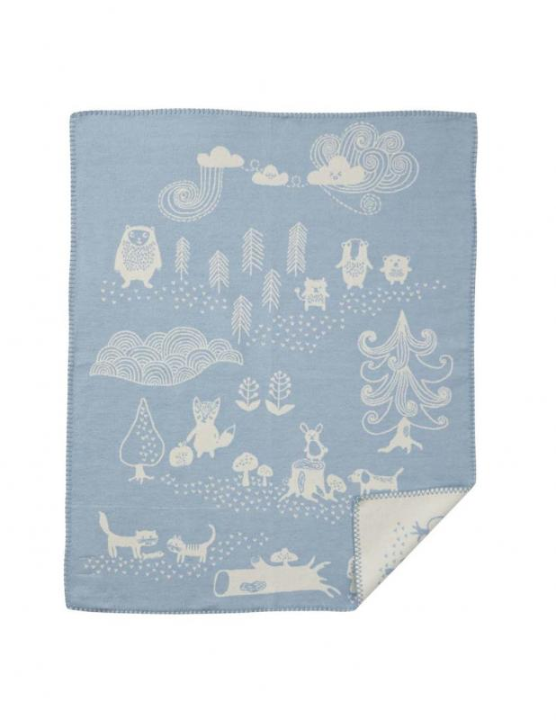 Little Bear Blue Blanket/Throw