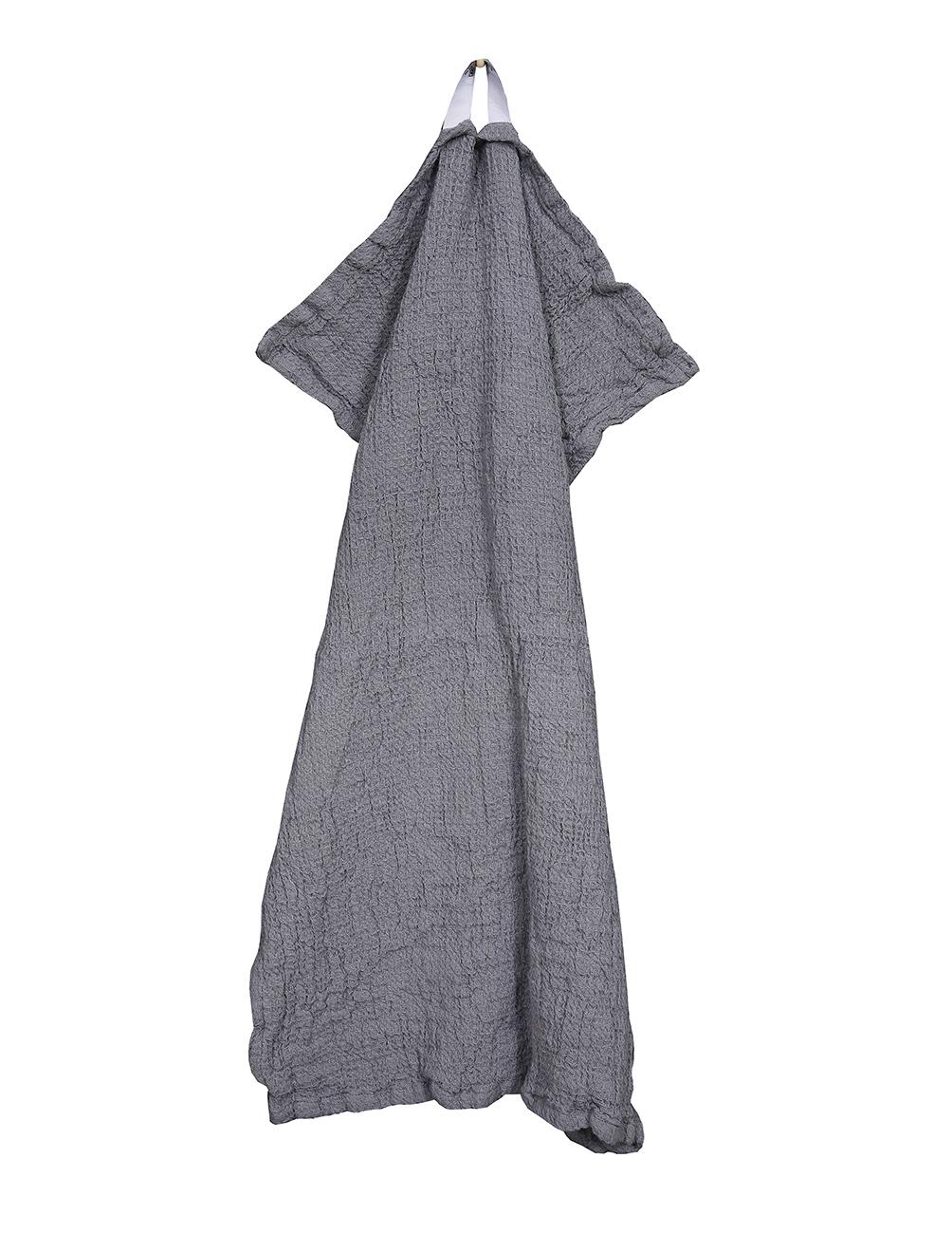 Waffled Towel Vejby Gray 40x60cm