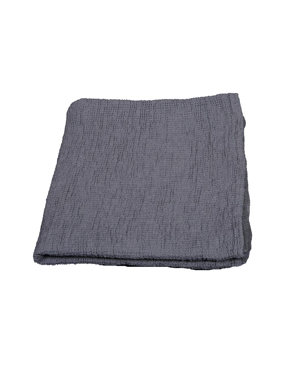 Waffled Towel Vejby Gray 70x130cm