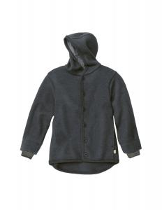 Anthracite Boiled Wool Jacket