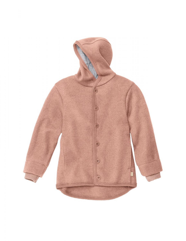 Rose Boiled Wool Jacket
