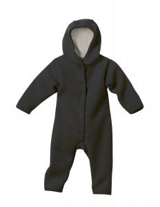 Anthracite Boiled Wool Overall