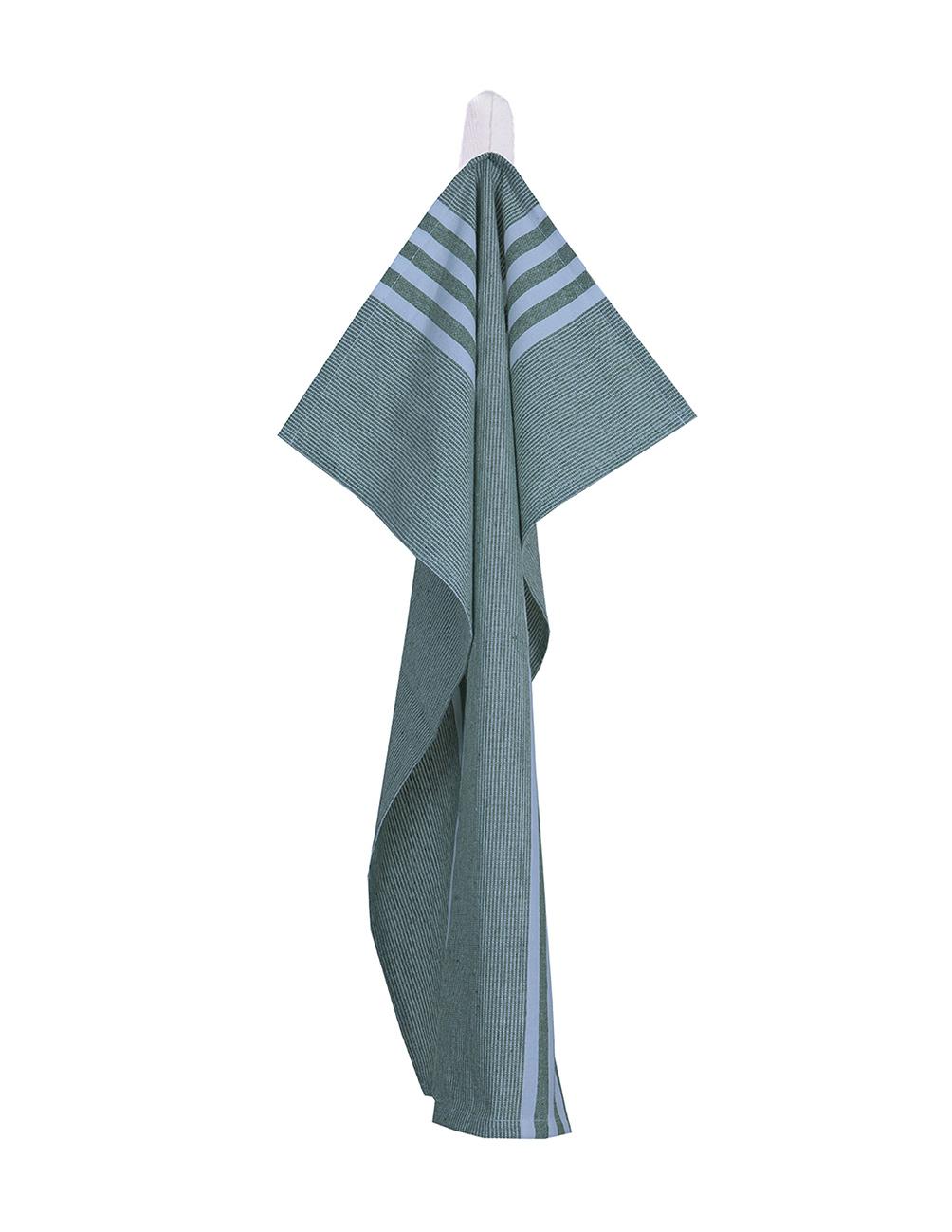 Kitchen Towel Green/White Gingham