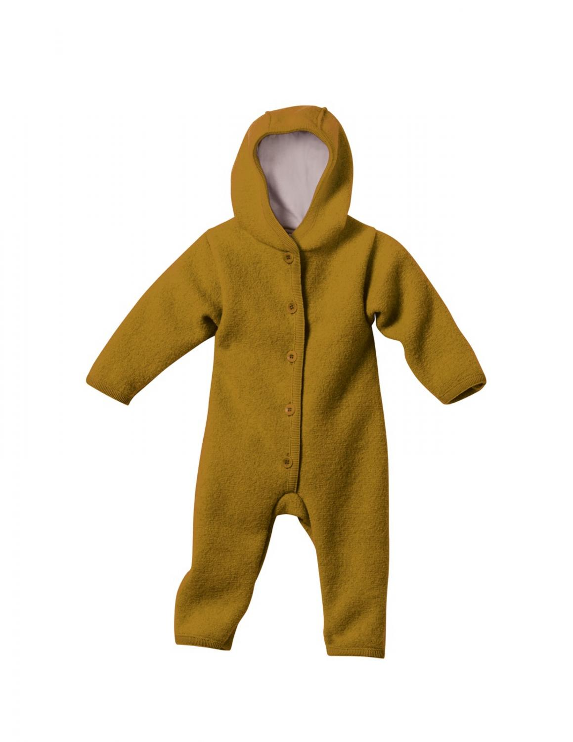 Gold Boiled Wool Overall