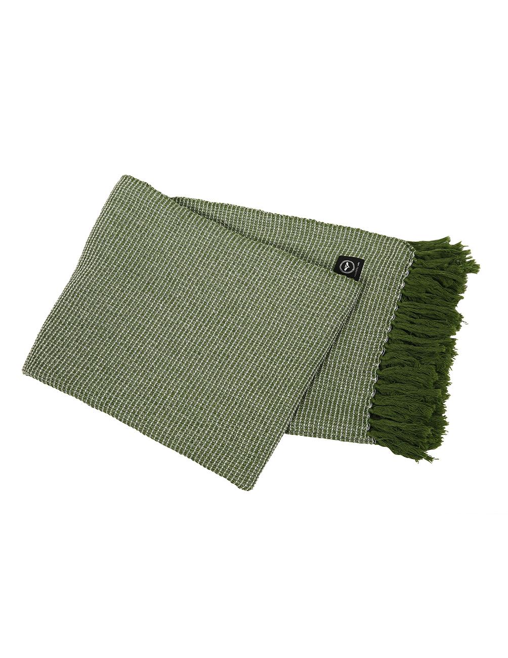 Blanket Valter Green/White 130x170cm