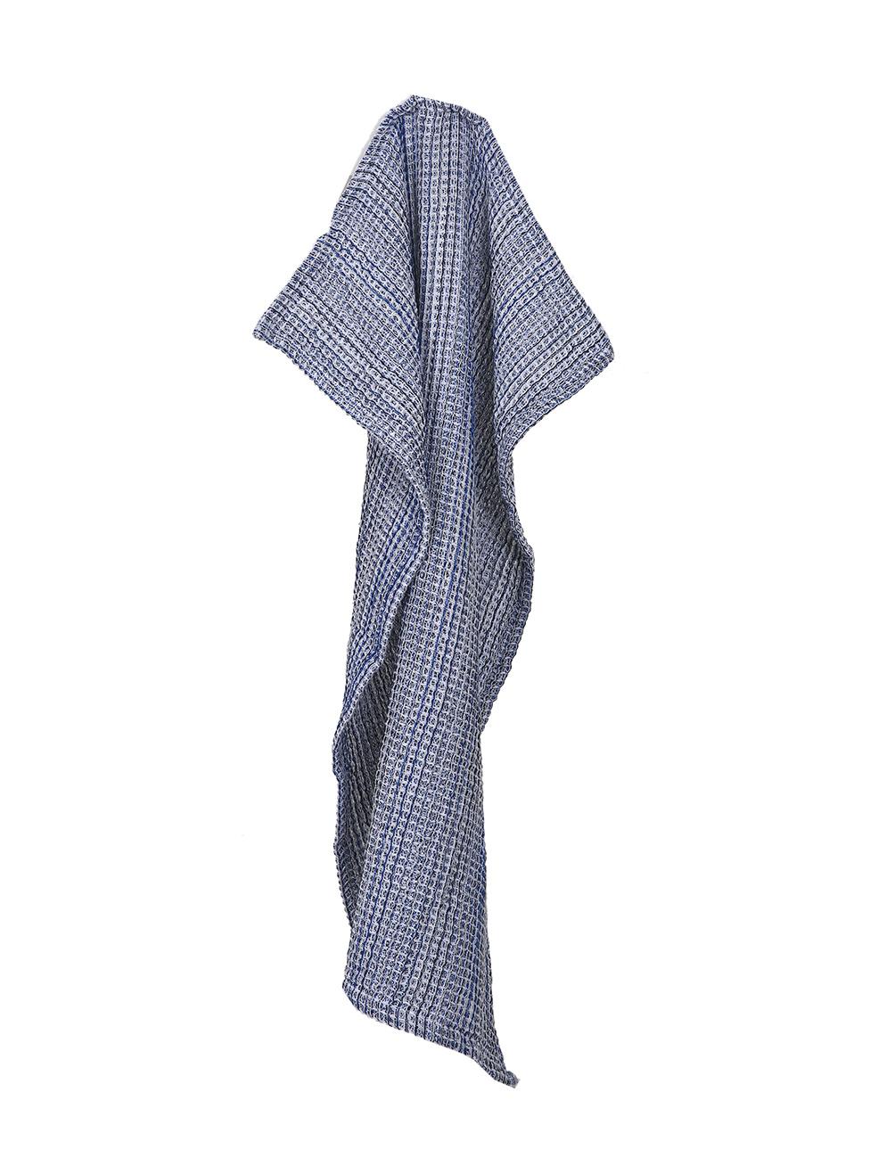 Waffle Towel Wilhelm Blue Multi