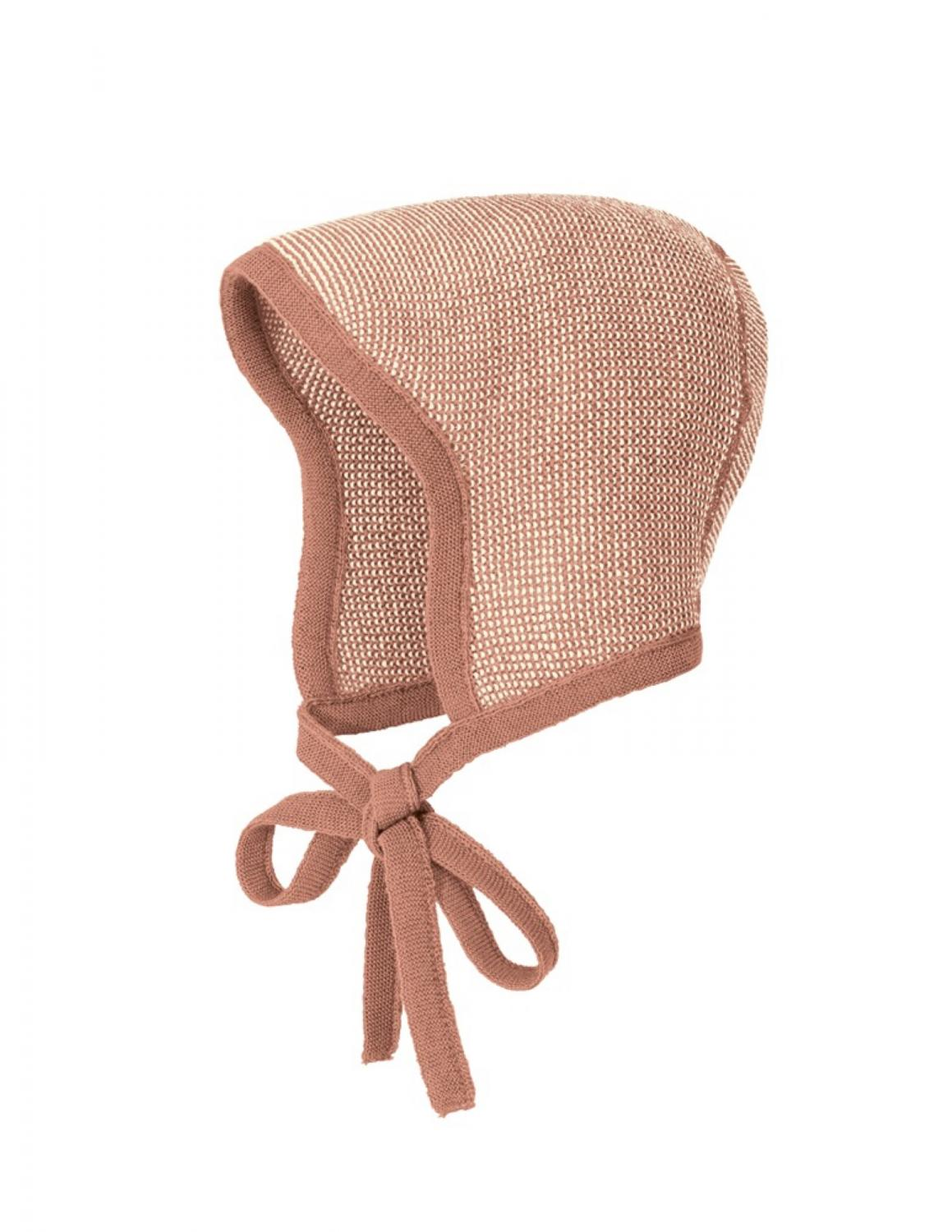 Rose Stickad Bonnet