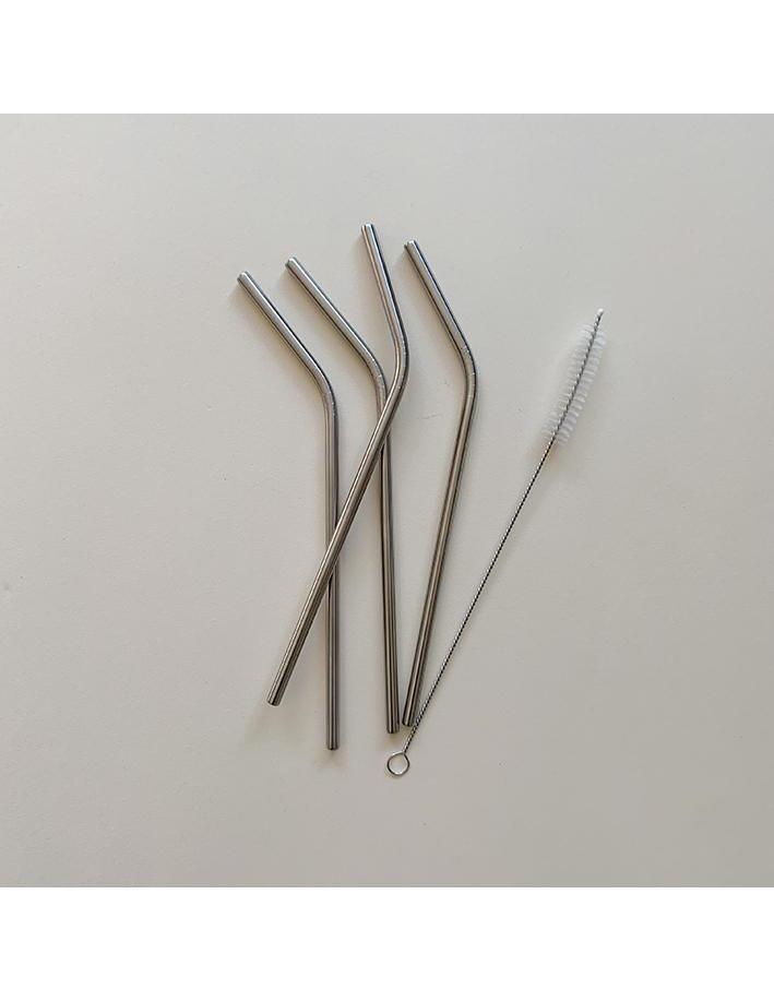 Reusable Straws - Steel 4-pack