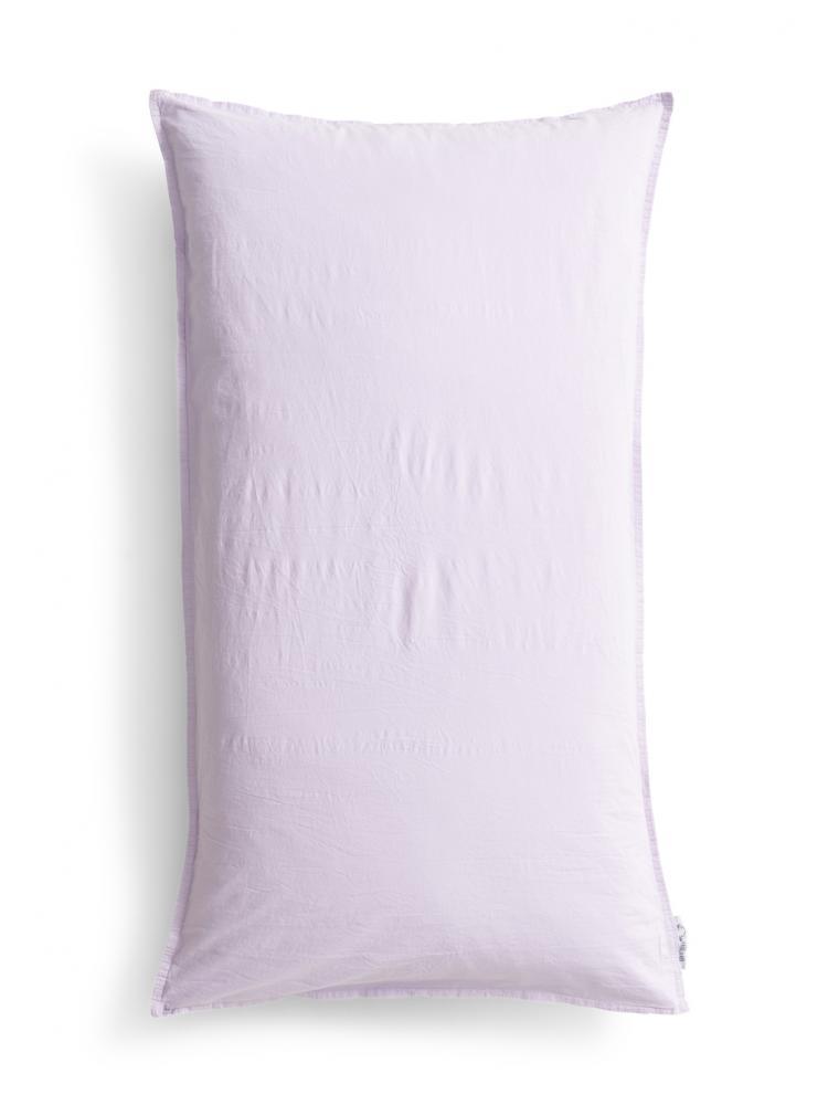 Kuddfodral Crinkle Lilac (90x50cm)