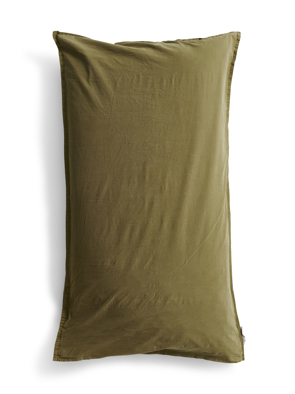 50x90cm Pillowcase Crinkle Moss Green