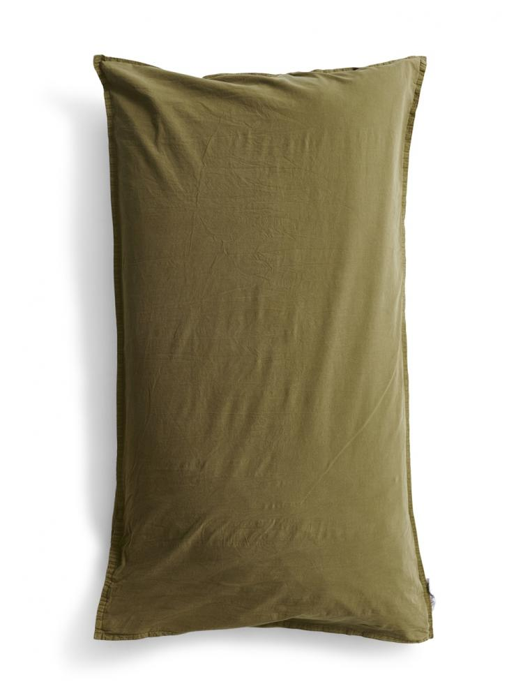 50x90cm Örngott Crinkle Moss Green