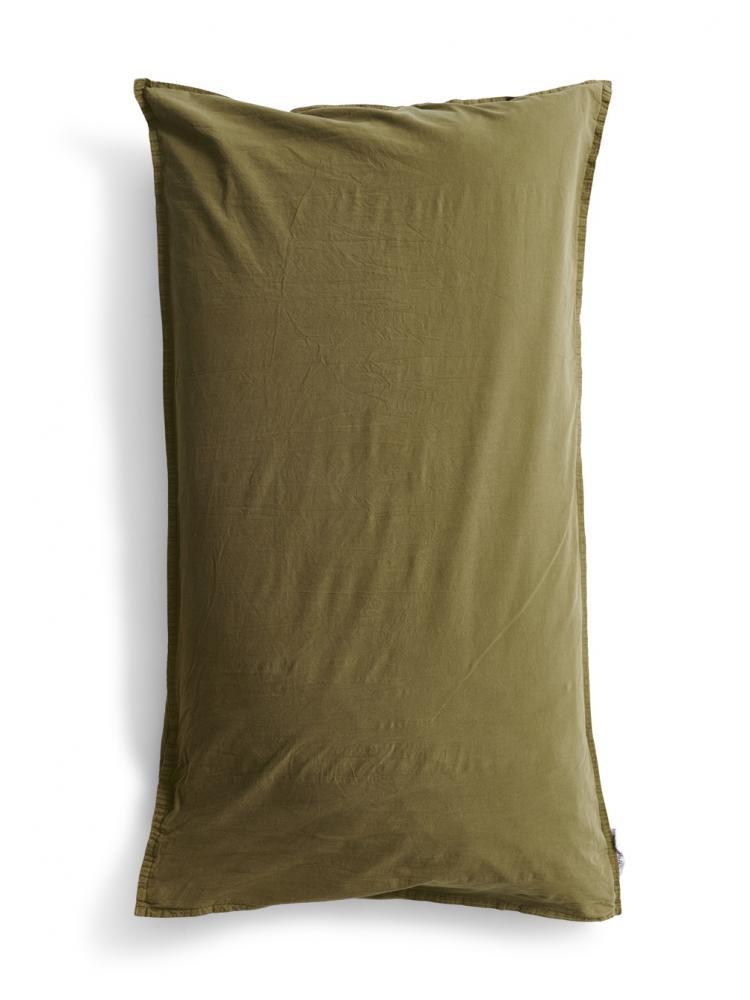 50x90cm Pillowcase Crinkle Moss Green