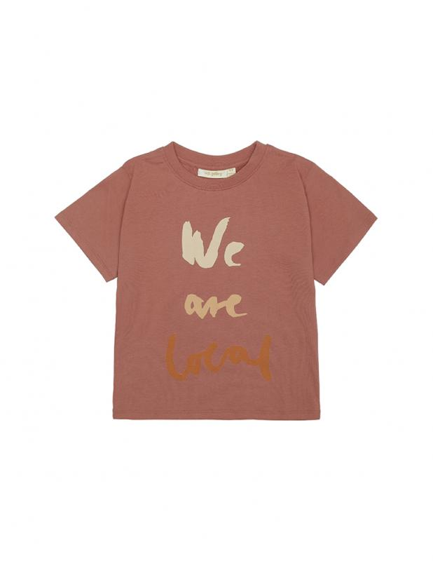 T-shirt Dominique Baked Clay