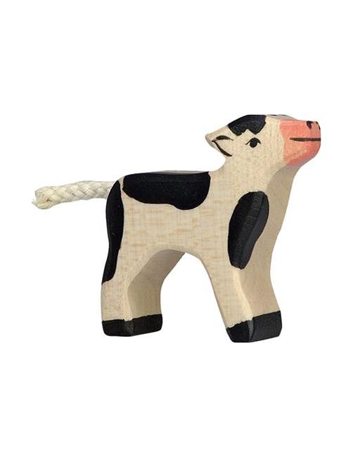 Big Calf Wood figure Holztiger