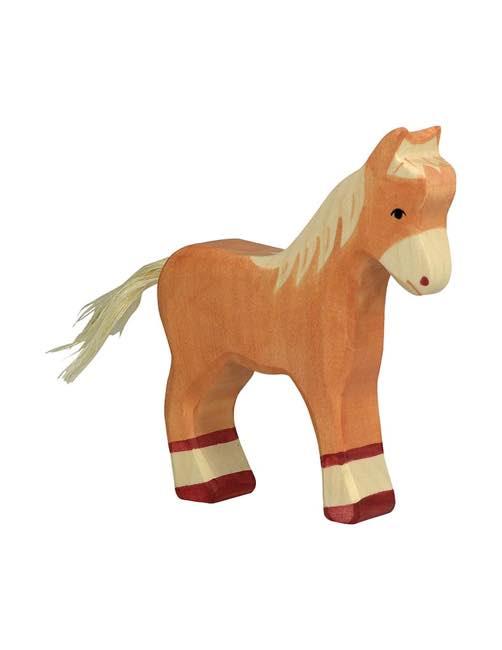 Foal Wood figure Holztiger