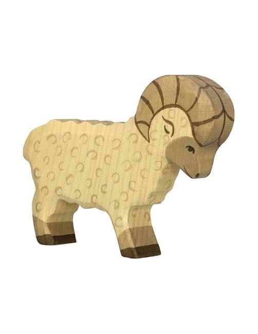 Ram Wood figure Holztiger
