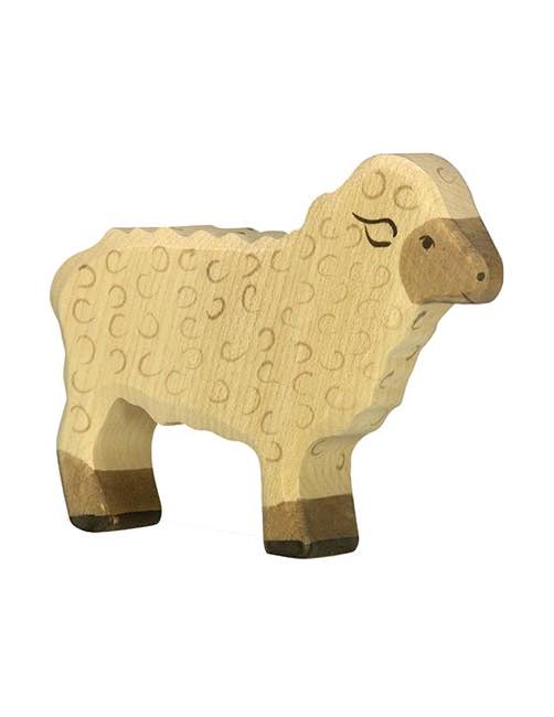 Sheep Wood figure Holztiger