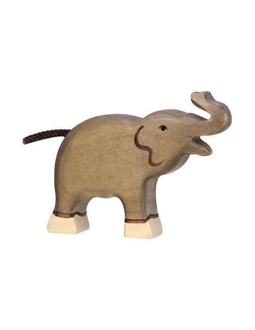 Small Elephant Wood figure Holztiger