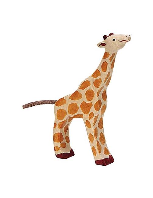 Small Giraffe Wood figure Holztiger