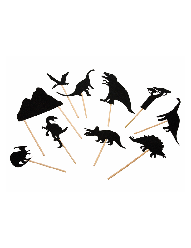 Shadow puppets Dinosaurs