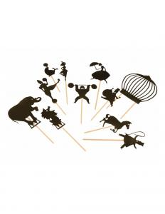 Shadow puppets Circus