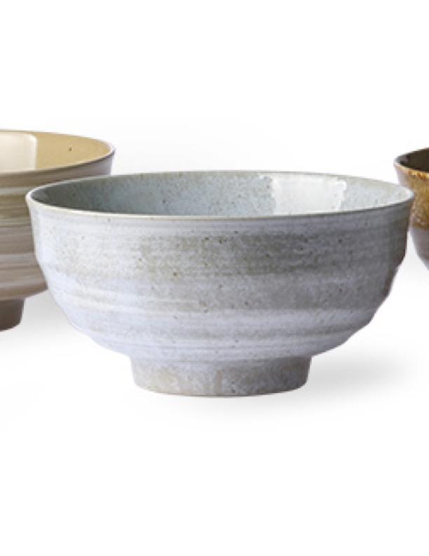 Japanese Grey Noodle Bowl