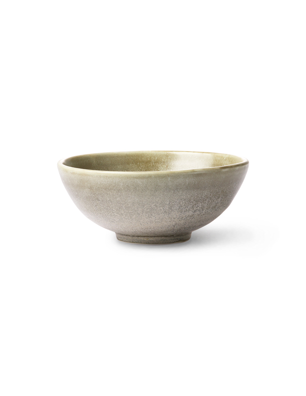 Kyoto Rustic Green Salad Bowl