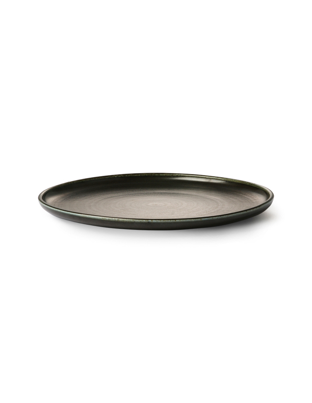 Kyoto Rustic Black Dinner Plate