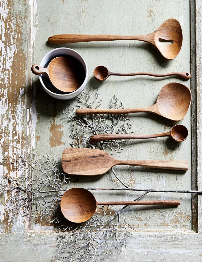 Wooden Serving Spoon