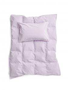 Baby Duvet Cover Crinkle Lilac