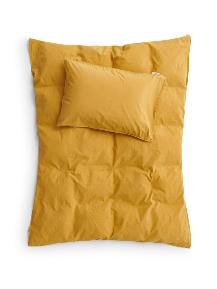Spjälsäng Påslakanset Mustard Gold