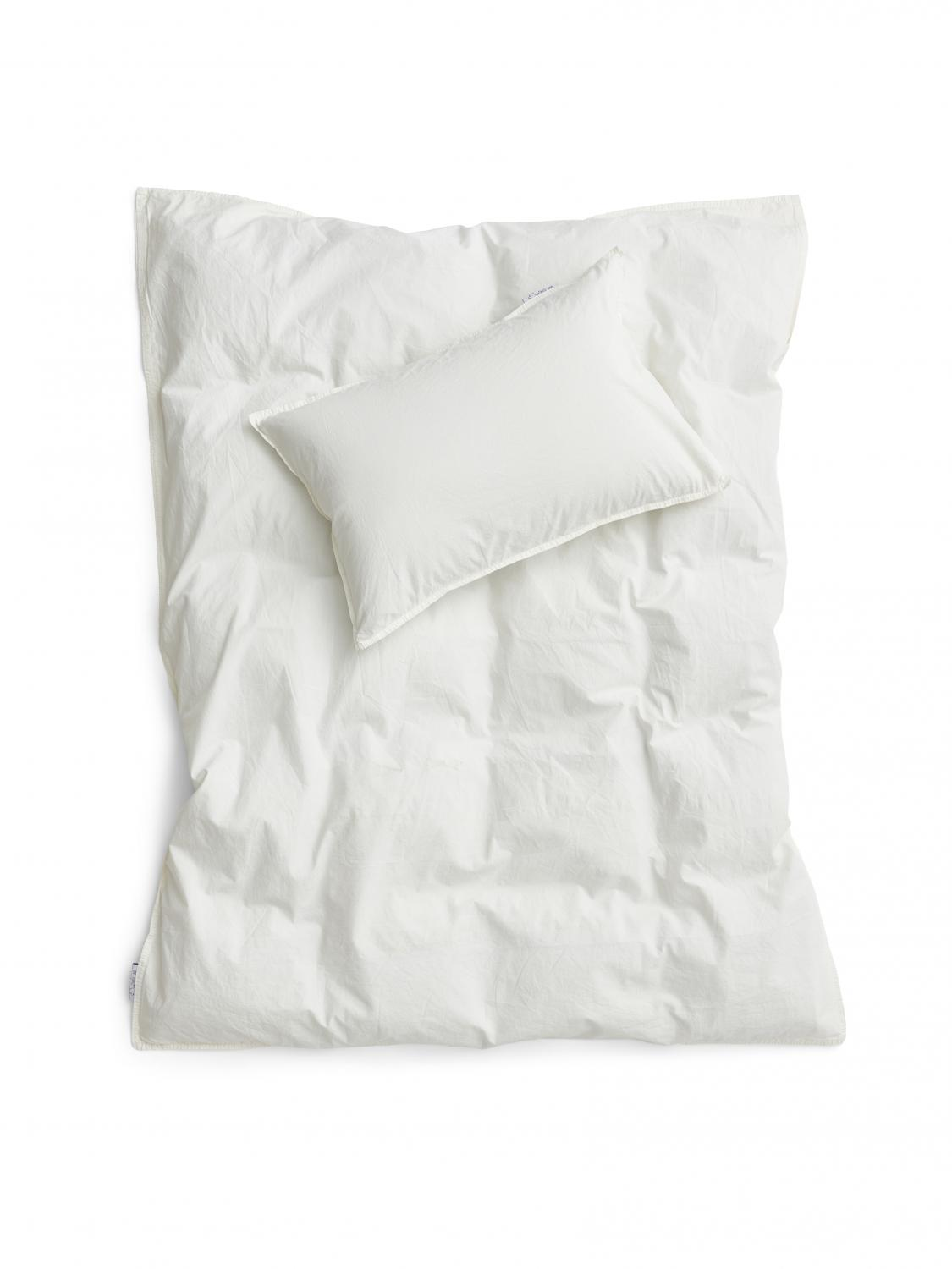 Baby Duvet Cover Crinkler Off White