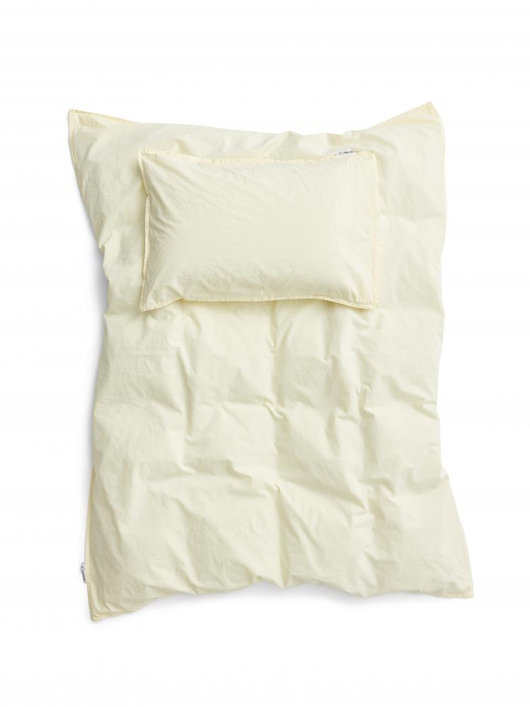 Baby Duvet Cover Crinkle Spring Yellow