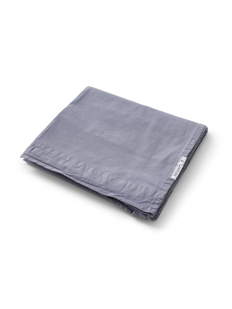 Baby Sheet Crinkle Dusty Blue