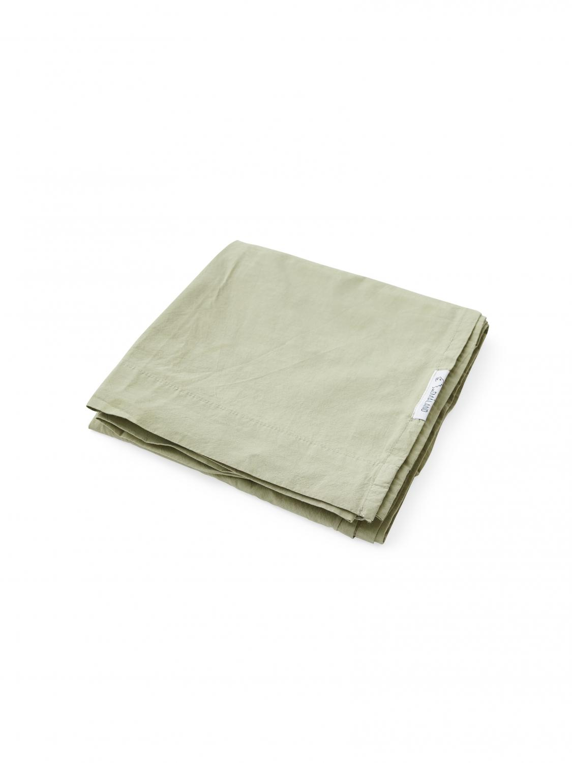 Baby Sheet Crinkle Green