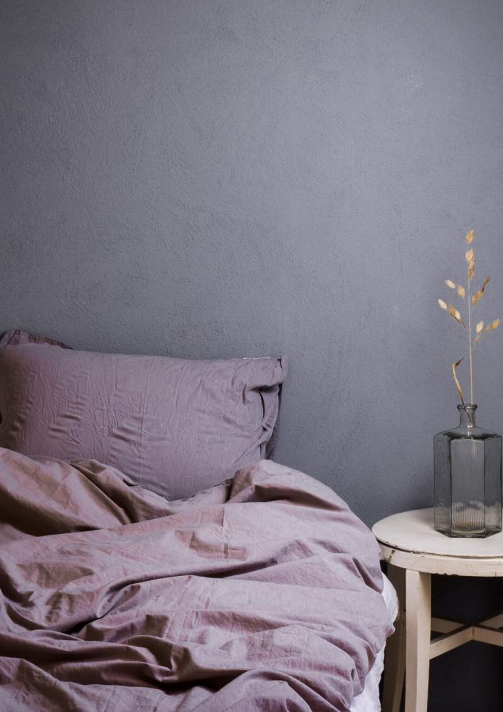 Duvet Cover Set Crinkle Lavender