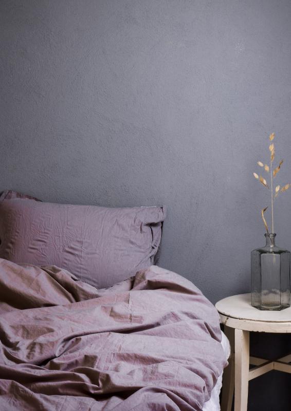 Påslakanset Crinkle Lavender