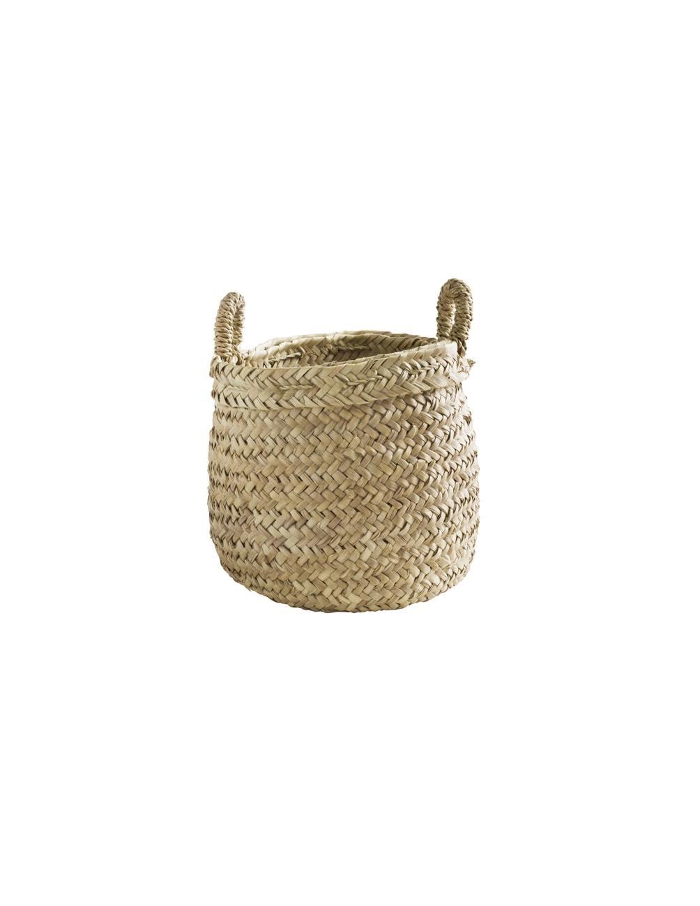 Medium Weaved basket with handles