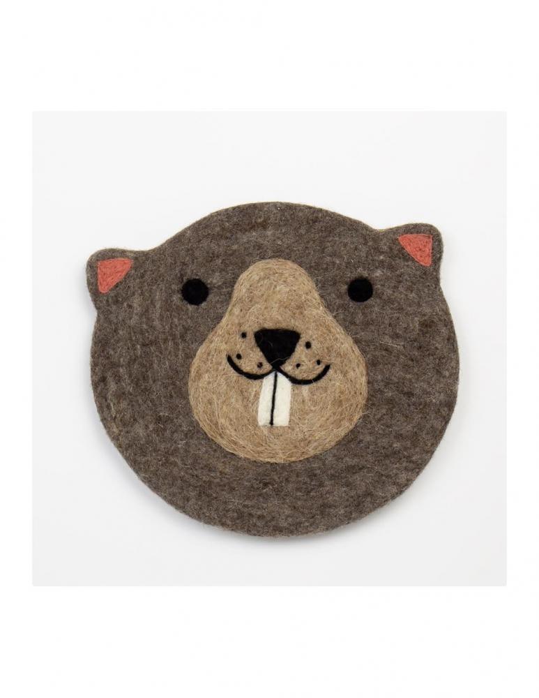 Beaver seat cushion