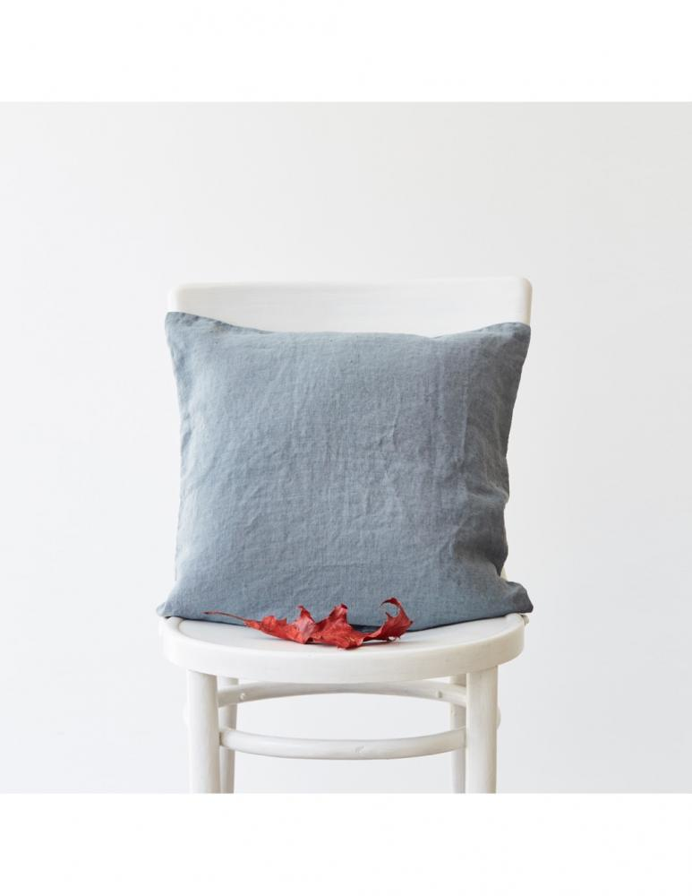 Blue Fog Linen Cushion Cover 50x50cm