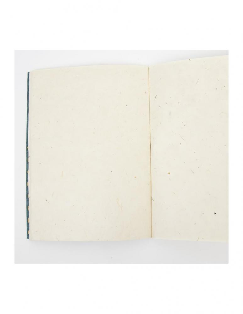 Blå/Vit Blot Skrivbok A5