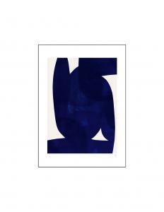 Poster Blue Shape 50x70cm
